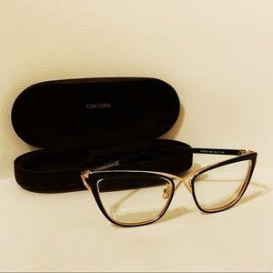 Tom Ford cross over cat eye glasses